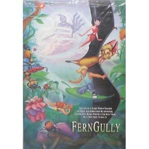 FERN GULLY ORIGINAL MOVIE POSTER