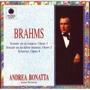 Bonatta Johannes Brahms (Composer), Andrea Bonatta (Piano) Music