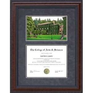 Diploma Frame with Western Washington University (WWU