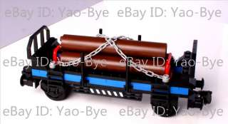timber car flat train buiding toys children day gift present