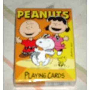 Peanuts Gang & Snoopy Playing Cards   Charlie Brown, Lucy, Woodstock