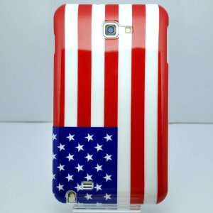 United States Flag Plastic Hard Case for Samsung Galaxy