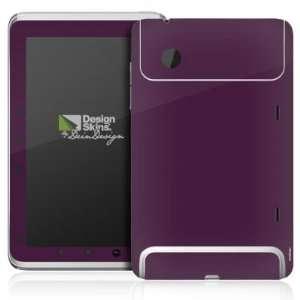 Design Skins for HTC Flyer   Aubergine Design Folie