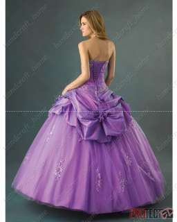2010 Wedding bridal Dress Quinceanera dress prom gown**