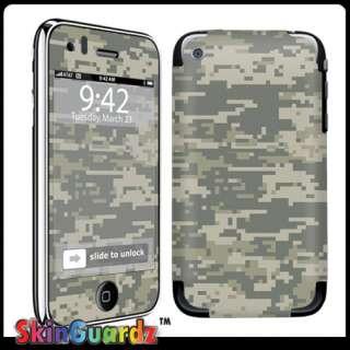ACU camo Decal Skin Sticker Cover IPHONE 3G 3GS Case