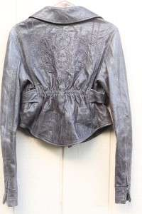 NWT~DIESEL~Cirinc~Lambskin embroidered jacket~M~$650