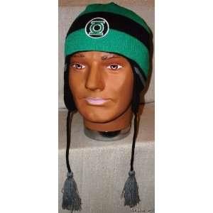 GREEN LANTERN Logo Knitted Laplander Beanie CAP/HAT