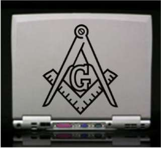 Freemason Mason Die Cut Vinyl Decal Sticker