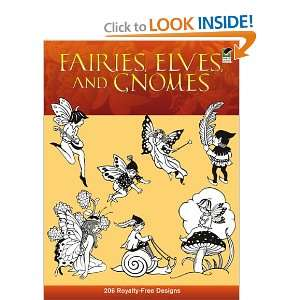 Fairies, Elves, and Gnomes CD ROM and Book (Dover Electronic Clip Art