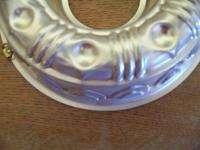 vintage round jello molds 8 10 copper silver colored tin metal