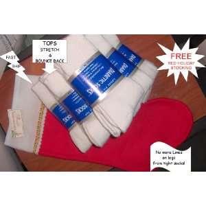 Diabetic Socks, WOMEN Crew Style, Sock Size 9 11 Holiday Package Free