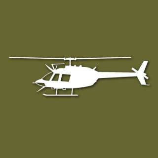 OH 58 Kiowa Scout Helicopter Vinyl Sticker VSOH58AS