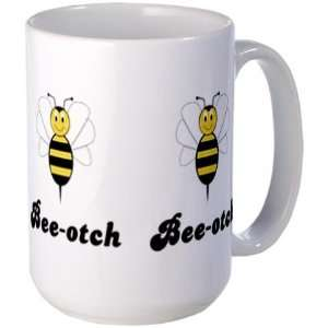 Smiling Bumble Bee Bee otch Cute Large Mug by