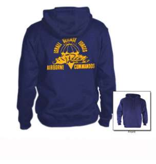 Airborne Commandos Hoodie israel special forces army