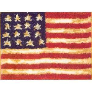 MCG Textiles, Graph N Latch Rug Kit American Flag. #37703