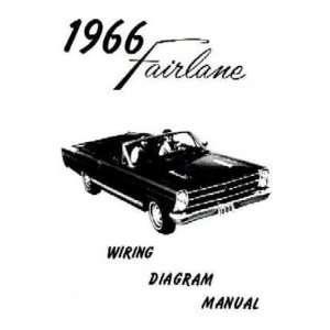 1966 FORD FAIRLANE Wiring Diagrams Schematics Automotive