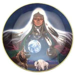 Dream Weaver native American plate Frizzell   CP1377
