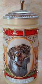 ANHEUSER BUSCH Beagle Stein Mans Best Friend Dog CS561