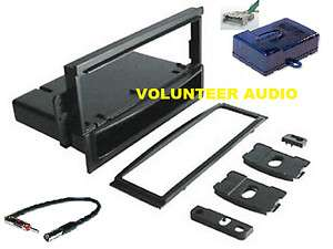 General Motors Single Din Radio Installation Dash Kit Combo Harness