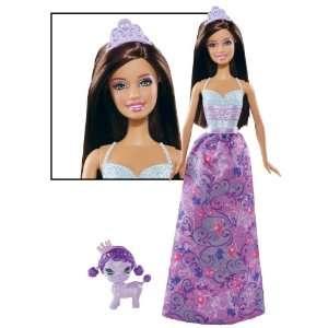Barbie Nikki ~12 Princess & Pet Doll Figure   Purple