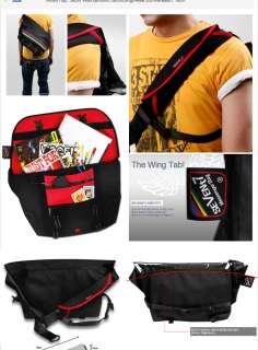 TA Korea Messenger Black Cross Bag BackPack Rain Cover SEVENt7