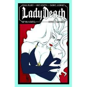 Lady Death #8 Art Deco Cover Brian Pulido & Mike Wolfer