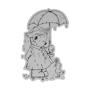 Penny Black Cling Rubber Stamp 4X6 Sunshine In The Rain