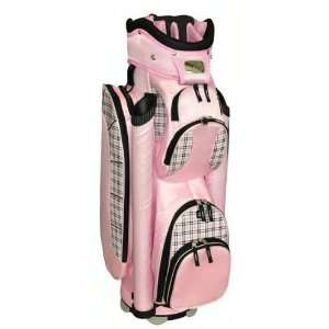 RJ Sports Ladies Atlantis Pink Plaid Golf Bag Sports