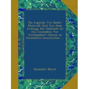 in Holztafeln Geschnitten  (German Edition) Benedikt Morel Books