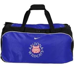 Nike Arizona Wildcats Navy Blue NCAA Duffel Bag Sports