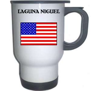 US Flag   Laguna Niguel, California (CA) White Stainless