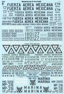 mexican navy air force insignia company aztec decals stock number 48