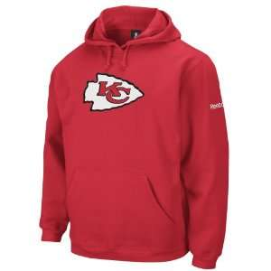 NFL Mens Kansas City Chiefs Red End Zone Playbook Hood