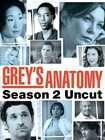Greys Anatomy   Season 2 Uncut (DVD, 2006, 6 Disc Set)
