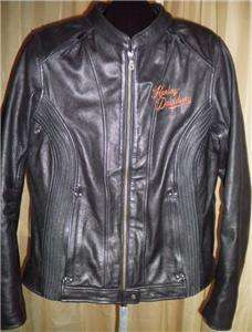Harley Davidson Leather Jacket Moxie 98003 11VW Large