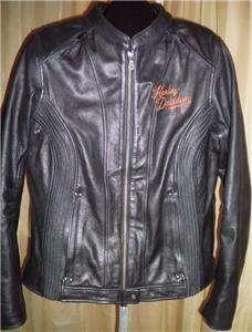 Harley Davidson Leather Jacket Moxie 98003 11VW Large