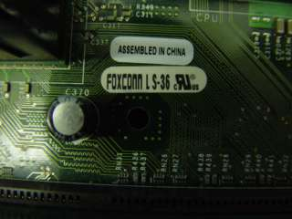 Foxconn Dell Motherboard LS 36 w/ 1.8GHz CPU 256MB RAM
