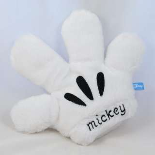 Disney Mickey Glove Costume Cosplay Hands Plush 1 Piece