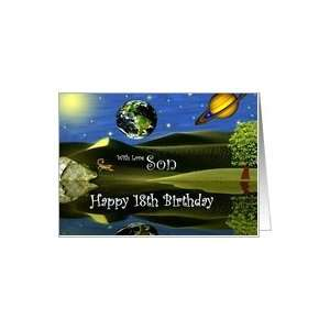 Birthday ~ Son / Age Specific 18th ~ Planet Taro Card: Toys & Games
