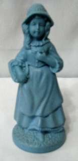 VINTAGE AVON LITTLE GIRL BLUE FULL DECANTER