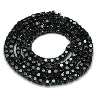Mens 30 Hip Hop Bling CZ Necklace Chain 4 Colors 1 Row Hip Hop FAST