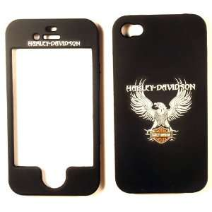 Harley Davidson iPhone 4 4G 4S Faceplate Case Cover Snap