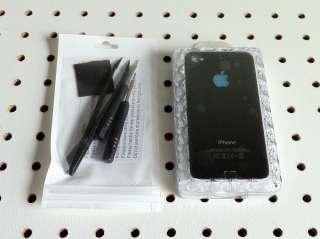iPhone 4 GSM Luminescent Logo Mod Kit   Black