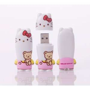 Mimobot X Hello Kitty 2 GB TEDDY USB Flash Memory Drive