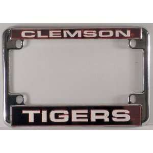 NCAA Chrome Motorcycle RV License Plate Frame