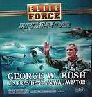 George W. Bush 12 Action Figure, U.S President & Naval Aviator, Blue