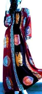 URBAN Long Sleeve Sexy Maxi Boho Funky Dress 12   22