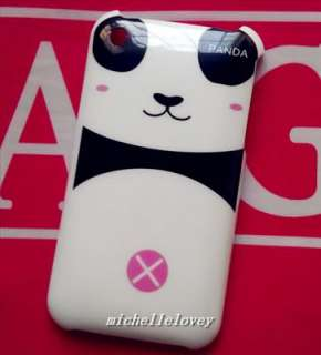 Cute Panda Hard Back Cover case for i Phone 3g/3gs MH29