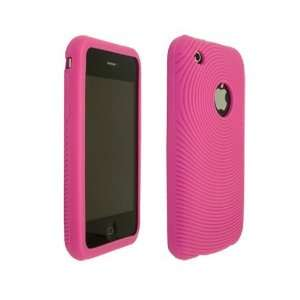 Apple iPhone Hot Pink Soft High Quality Silicone Skin Back