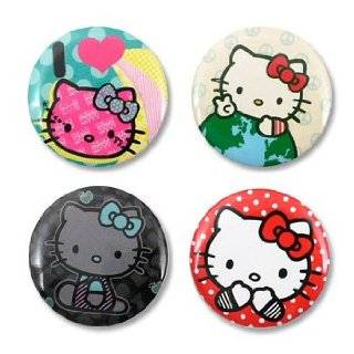 Hello Kitty Button/Pin Set Toys & Games